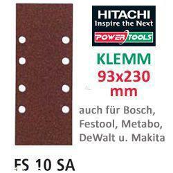 HiKoki Schleifpapier SP f. Klemm Schwingschleifer 93x230 K120