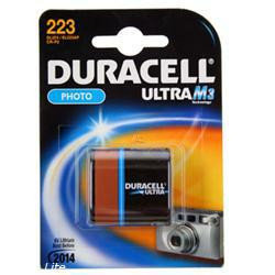 Duracell 223 Duracell Ultra Photo, 6 Volt - Lithium