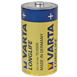 Varta Longlife Baby LR14 Batterie Test