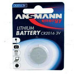 Ansmann CR2016 Lithium-Knopfzelle 3,0Volt 90mAh