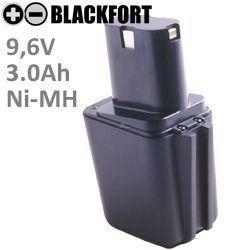 9,6V Knollen Akku passend für Bosch 2 607 335 176 mit 3,0Ah Ni-MH