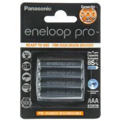 Panasonic Eneloop Pro Micro (AAA) Akku NiMH 1,2Volt 900mAh im 4er Blister