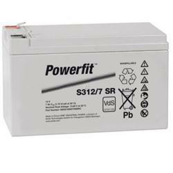 Exide Bleiakku Powerfit S312/7SR 12,0Volt 7.000mAh mit 6,3mm Steckanschlüssen