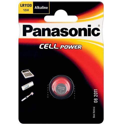 Panasonic LR1130 Knopfzelle 1,5Volt 44mAh AlMn
