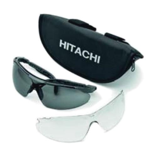 HiKoki Schutzbrille UV400 Set mit Wechselgläsern