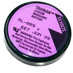 TADIRAN SL-889/P mit 3er Print 3,6Volt 1000mAh Lithium
