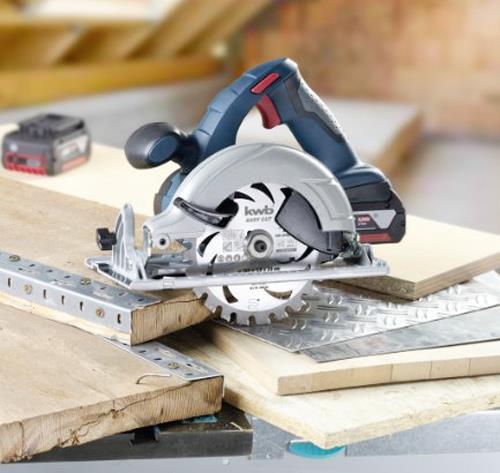 HM Dünnschnitt-Kreissägeblatt Ø 135mm x 20mm, 24 Zähne - Easy Cut