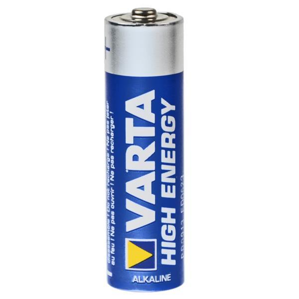 VARTA Mignon Batterie 4906 LR06 High Energy - 4er-Blister