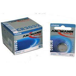 Ansmann Lithium-Knopfzelle CR 2032 3,0Volt 210mAh