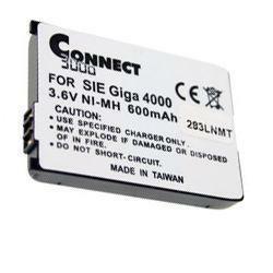 Akku für Siemens GigaSet Active M mit 3,6Volt 550mAh