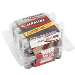 Ansmann RED Alkaline Micro Batterien in der 20er Box