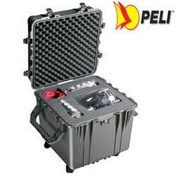 PELI 0350 Würfelkoffer, Cube Case schwarz mit Würfelschaum