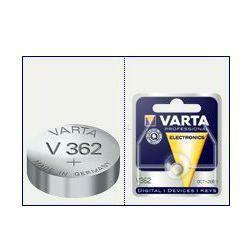 Varta Uhrenbatterie V362, Silberoxid Knopfzelle SR58, SR721SW
