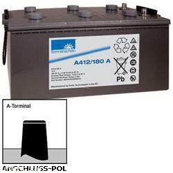 Sonnenschein Bleiakku Dryfit A412/180A 12,0Volt 180Ah Anschluss A-Pol