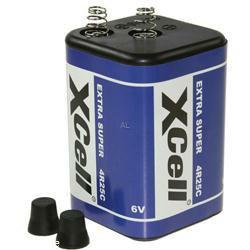 XCELL Blockbatterie 4R25 - 996, Laternenbatterie