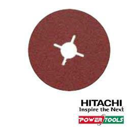 HiKoki Fiberschleifblätter f. Inox, Durchm.: 125 mm, K120 (25Stk.)