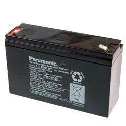 Panasonic Bleiakku LC-R0612P1 6,0Volt 12,0Ah mit 6,3mm Steckanschlüssen