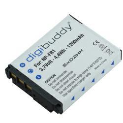 Akku passend für Sony NP-FR1 3,7Volt 1.200mAh Li-Ion (kein Original)