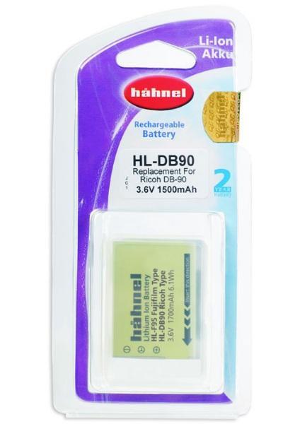 Hähnel Akku passend für Ricoh DB-90 3,7Volt 1.500mAh Li-Ion (kein Original)