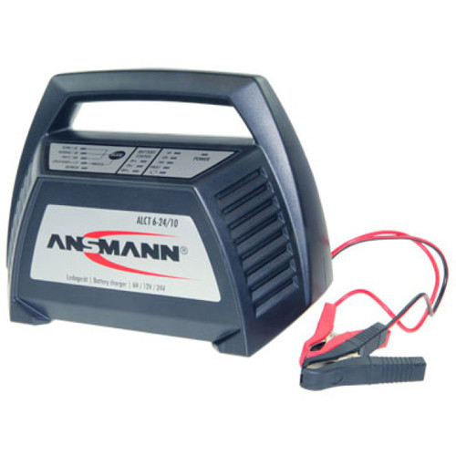 Ansmann Automatik Ladegerät ALCT6-24/10 für Bleiakkus - mit vielen Features