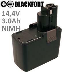 14,4V Flach Akku passend für Bosch 2 607 335 246 mit 3,0Ah Ni-MH
