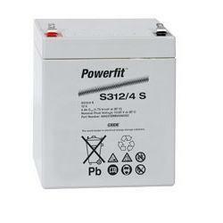 Exide Powerfit Bleiakku S312/4S 12,0Volt 4,0 Ah mit 4,8mm Steckanschlüssen