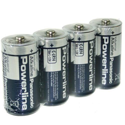 Panasonic Industrial Baby Batterie Powerline - 1 Stück 1,5Volt