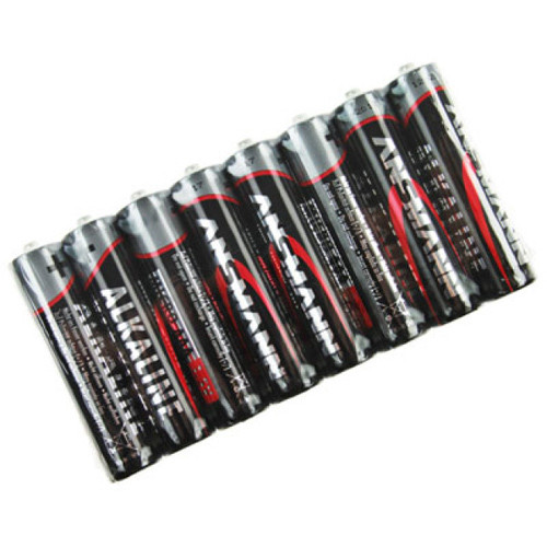 Ansmann RED AAA Alkaline Micro Batterien, 8 Stück