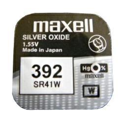 Maxell Uhrenbatterie SR41W Uhrenbatterie