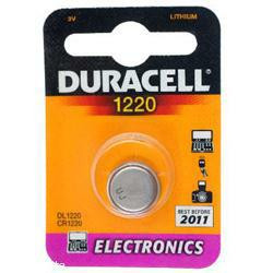Duracell DL1220 Lithium Knopfzelle 3,0Volt