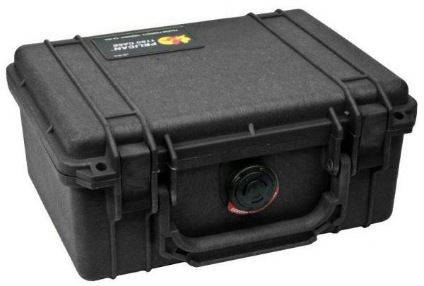 PELI 1150 Schutzkoffer, Case schwarz mit Würfelschaum