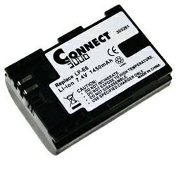 Akku passend für Canon LP-E6 7,4Volt 1.300mAh Li-Ion (kein Original)