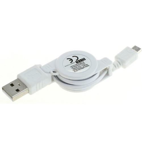 Micro USB Kabel A-Stecker & Micro-Stecker - aufrollbar