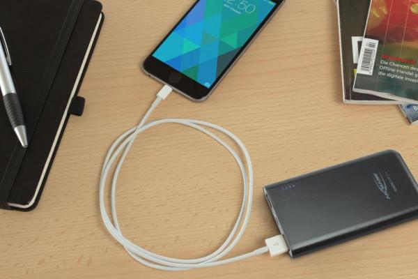 5400mAh Ansmann Powerbank Li-Ion Akku 20Wh mit 2 USB