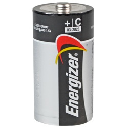 Energizer C Batterie Test, erreichte Zeit: 83 Min.