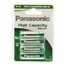 Panasonic Rechargeable Evolta Mignon rHHR-3XXE/4BC 1,2Volt 2450mAh NiMH im 4er Blister