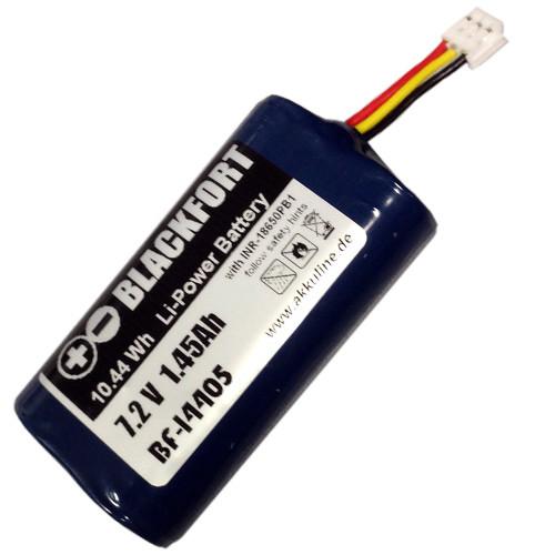 Ersatzakku für Gardena ComfortCut Li-Ion Accu 7,2V 2S1P INR-18650PB1