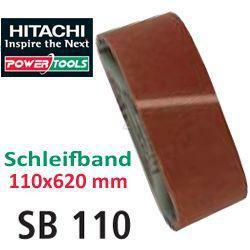 HiKoki Schleifpapier Schleifband 110x620mm K100