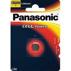 Panasonic Lithium-Knopfzelle CR2450 3,0Volt 560mAh
