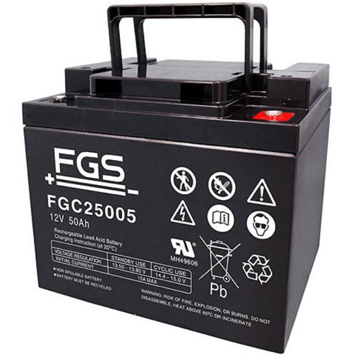 FGS Bleiakku FGC25005 Zyklen-Type 12,0 Volt 50 Ah mit M6-Schraubanschlüssen
