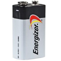 Energizer Standard 9V Block Test, erreichte Zeit: 260 Min.
