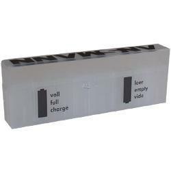 Akku Box Aufbewahrungsbox für 8 Micro, Mignon, CR123A