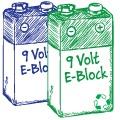 9V Block Akku & Batterien im Test