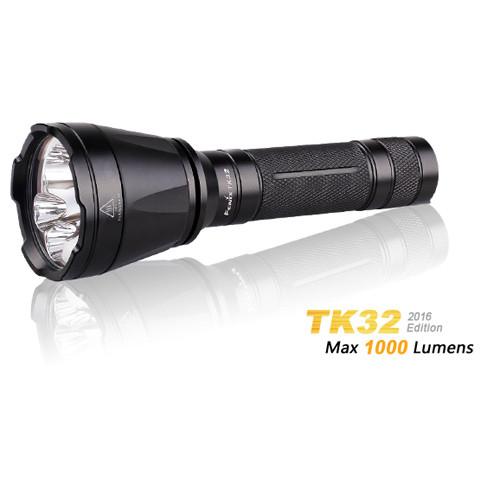 Fenix TK32 Cree XP-L HI V3 weißes Licht & XQ-E rot grün LED-Taschenlampe