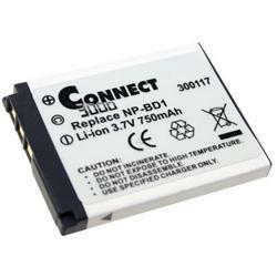 Akku passend für Sony NP-BD1 / NP-FD1 3,7Volt 600mAh Li-Ion (kein Original)