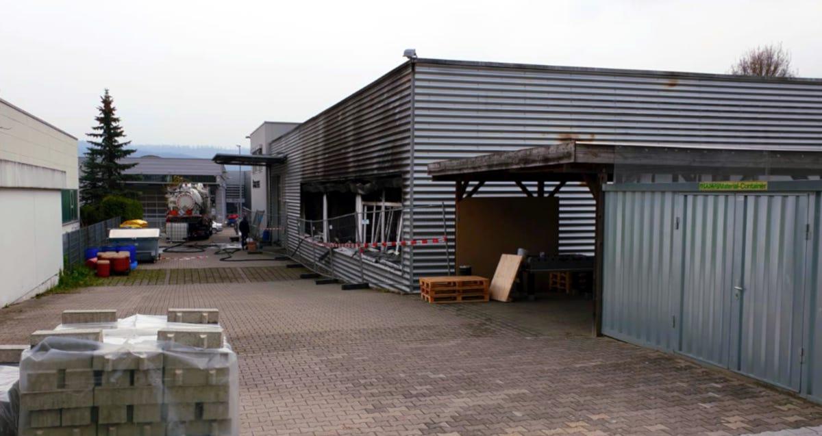 Produktionshalle Schorndorf