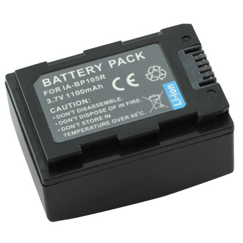 Akku passend für Samsung BP105R 3,7Volt 1.100mAh Li-Ion (kein Original)