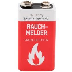 Ansmann 9V Li Rauchmelder Batterie Rauchmelder Batterie Test