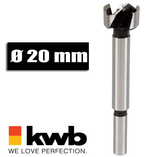 Forstnerbohrer Ø 20 mm für Bohrmaschinen u. Akkuschrauber