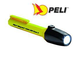 Peli 1965Z0 MityLite LED Taschenlampe, EX-geschützt Zone 0, Gelb, inkl. Batterien